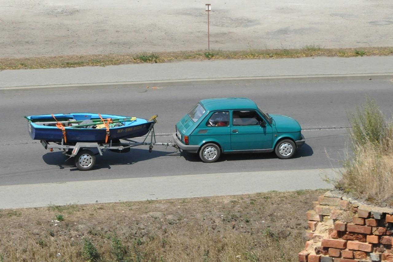 remorque kayak voiture