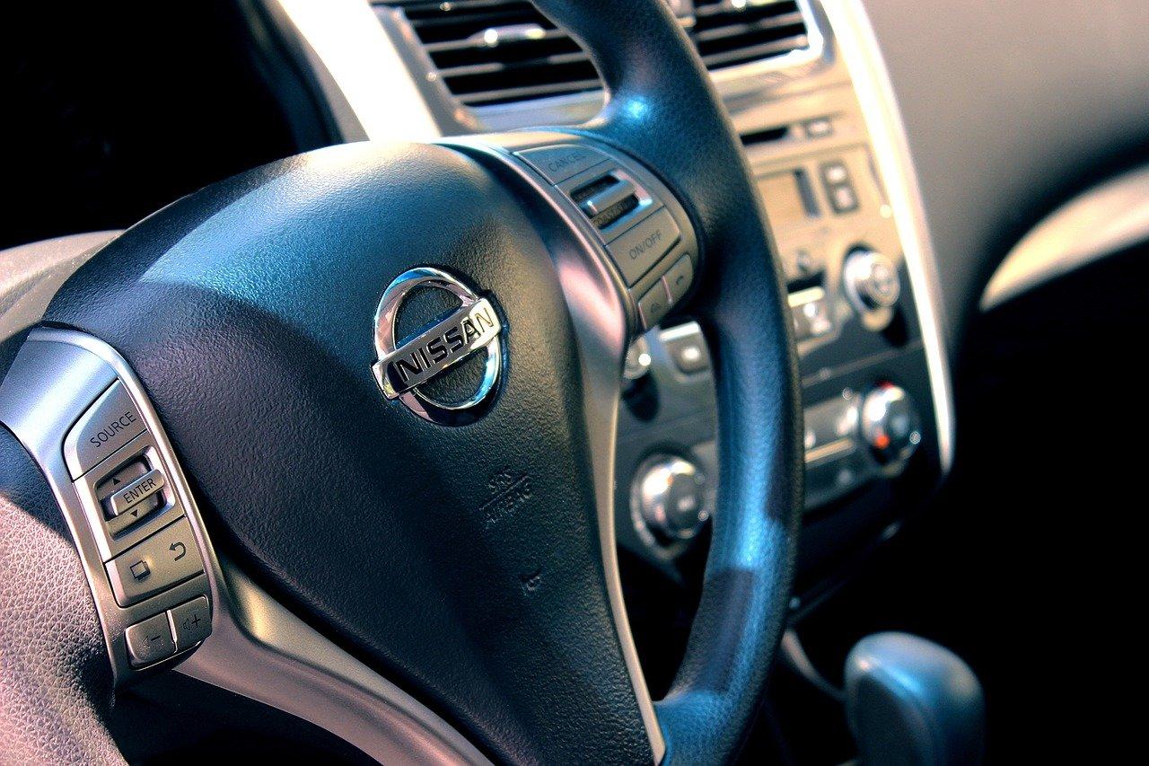 intérieur voiture volant
